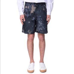 NWOT Acne Studios Allan Camo Print Mens Shorts